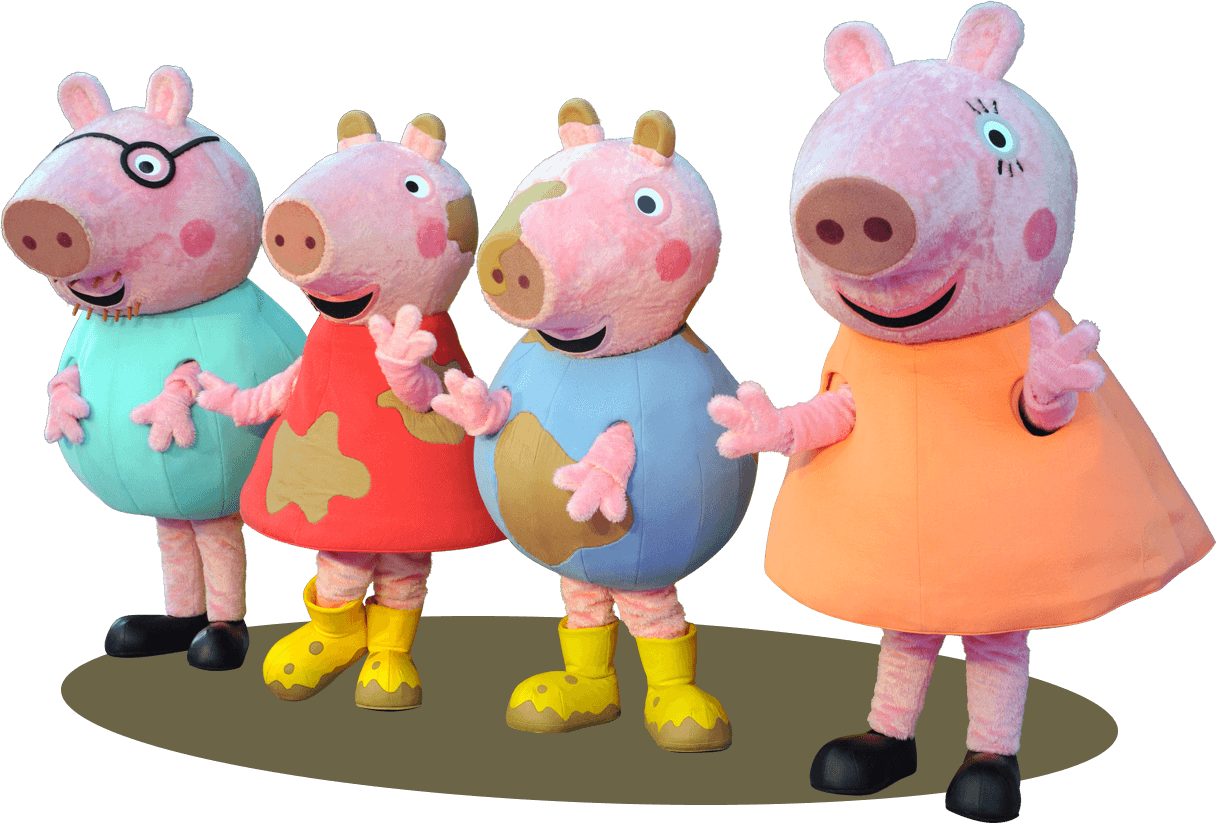 peppa pig live in south africa